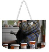 Depression And Addiction Weekender Tote Bag