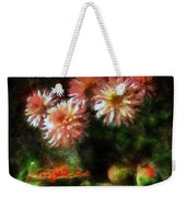 Depths Of Tranquility Weekender Tote Bag