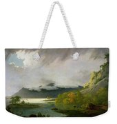 Derwent Water With Skiddaw In The Distance Weekender Tote Bag