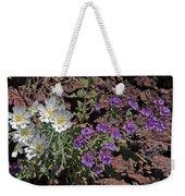Desert Chicory And Heliotrope Weekender Tote Bag
