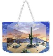 Desert On My Mind 2 Weekender Tote Bag