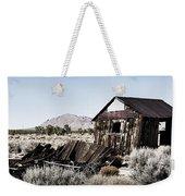 Deserted Desert Dwelling Weekender Tote Bag