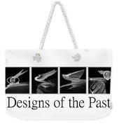 Designs Of The Past Weekender Tote Bag