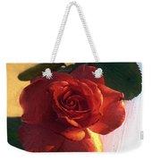 Desire In Coral Weekender Tote Bag