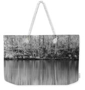 Desolate Splendor Bw Weekender Tote Bag