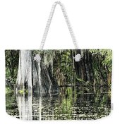 Details Of A Florida River Weekender Tote Bag