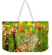 Determined Dandelion Weekender Tote Bag
