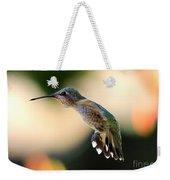 Determined Hummingbird Weekender Tote Bag