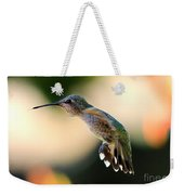Determined Hummingbird Weekender Tote Bag