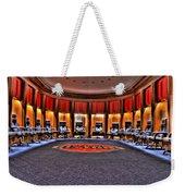 Detroit Pistons Locker Room Auburn Hills Mi Weekender Tote Bag