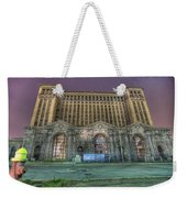 Detroit's Michigan Central Station - Michigan Central Depot Weekender Tote Bag