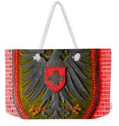 Deutsch Weimarer Shield Weekender Tote Bag