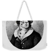 Development Of Smallpox Weekender Tote Bag by Science Source