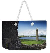 Devenish Monastic Site, Lough Erne, Co Weekender Tote Bag