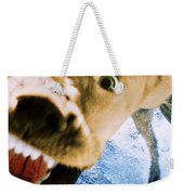 Devil Dog Weekender Tote Bag