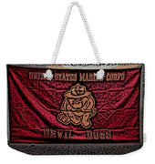 Devil Dogs Weekender Tote Bag