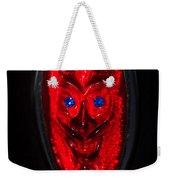 Devil With Sapphire Eyes Weekender Tote Bag