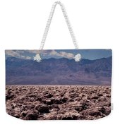 Devil's Golf Course At Death Valley Weekender Tote Bag