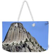 Devil's Tower Full View Weekender Tote Bag