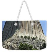 Devil's Tower Weekender Tote Bag