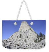Devils Tower National Monument, Wyoming Weekender Tote Bag