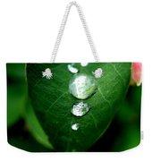 Dew Drops Weekender Tote Bag