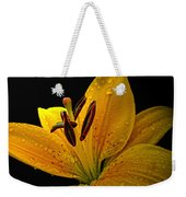 Dew On The Daylily Weekender Tote Bag