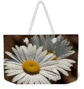 Dew Tell Oxeye Daisy Wildflowers Weekender Tote Bag