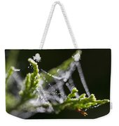 Dew With The Jitters Weekender Tote Bag