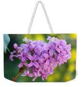 Dewdrops On Lilacs Weekender Tote Bag