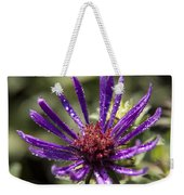 Dewy Purple Fleabane Weekender Tote Bag