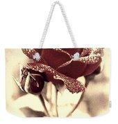 Dewy Rose Weekender Tote Bag