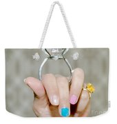 Diamond Ring Weekender Tote Bag