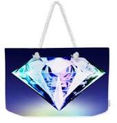 Diamond Weekender Tote Bag by Setsiri Silapasuwanchai