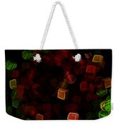 Dice And Letters Weekender Tote Bag