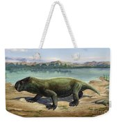 Dicynodon Trautscholdi, A Prehistoric Weekender Tote Bag