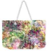 Digital Abstract Weekender Tote Bag