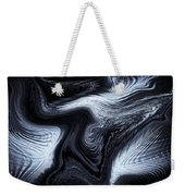 Digital Blue Art Weekender Tote Bag
