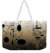 Digital Dimensions In Brown Series Image 2 Weekender Tote Bag