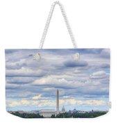 Digital Liquid - Clouds Over Washington Dc Weekender Tote Bag