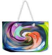 Digital Swirl Of Color 2001 Weekender Tote Bag