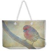 Digitally Painted Finch With Texture II Weekender Tote Bag