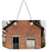 Dilapidated Old Brick Building Weekender Tote Bag
