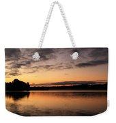 Diminishing Clouds And Rising Sun Weekender Tote Bag
