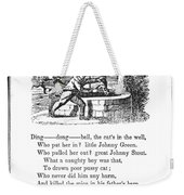Ding Dong Bell, 1833 Weekender Tote Bag by Granger