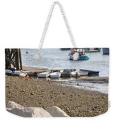 Dinghies At Green Harbor Weekender Tote Bag