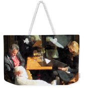 Dining Out With The Family Weekender Tote Bag