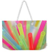 Drinking Straws Weekender Tote Bag