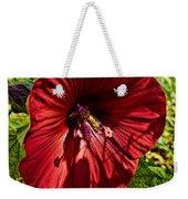 Dinner Plate Hibiscus Weekender Tote Bag