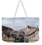Dino's In The Badlands Weekender Tote Bag